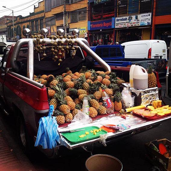 Frontier-Free-Drifting-Pineapple-Truck-Bogota